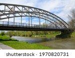 Iron Bridge Over The River