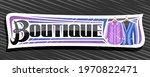 vector banner for boutique ... | Shutterstock .eps vector #1970822471