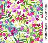 intricate botanical seamless...   Shutterstock .eps vector #1970844281