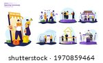 illustration set about opening...   Shutterstock .eps vector #1970859464