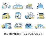 12 sets of different types of... | Shutterstock . vector #1970873894
