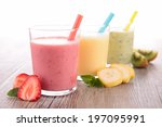 smoothie | Shutterstock . vector #197095991