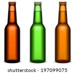 beer bottles. | Shutterstock .eps vector #197099075