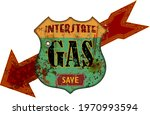 vintage grungy american... | Shutterstock .eps vector #1970993594