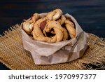 Top View Of Neapolitan Cookies...