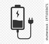 transparent battery and plug...