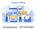 content filling concept. making ...   Shutterstock .eps vector #1971054287