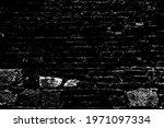 old grungy retro grimy brick... | Shutterstock .eps vector #1971097334