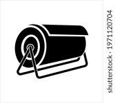 roll icon  mat  rug  carpet or... | Shutterstock .eps vector #1971120704