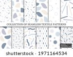 collection of vector seamless...   Shutterstock .eps vector #1971164534