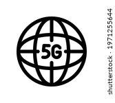 5g line vector icon. network...   Shutterstock .eps vector #1971255644