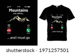 mountains calling i must go t... | Shutterstock .eps vector #1971257501