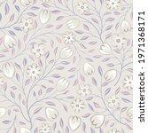 floral seamless pattern. flower ... | Shutterstock .eps vector #1971368171
