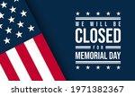 memorial day background design. ... | Shutterstock .eps vector #1971382367