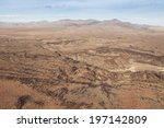 gorgeous desert mountains with... | Shutterstock . vector #197142809