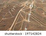 Elegant White Wind Turbines In...
