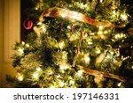 A Christmas Tree With Christma...