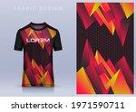 fabric textile design for sport ... | Shutterstock .eps vector #1971590711