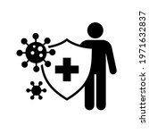 antivirus shield protection...   Shutterstock .eps vector #1971632837