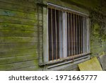 White  Rusting Window...