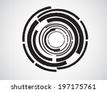 abstract circle background | Shutterstock .eps vector #197175761