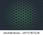 abstract green light geometric... | Shutterstock .eps vector #1971787124