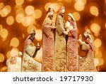 Religious Christmas Group With...