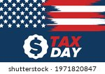 national tax day in the united... | Shutterstock .eps vector #1971820847