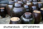 Traditional Korean Crock With...