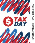 national tax day in the united... | Shutterstock .eps vector #1971861257