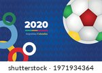 blue sports background  bright... | Shutterstock .eps vector #1971934364