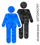 triangle gay persons couple...   Shutterstock .eps vector #1972092797