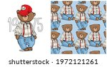 collection of one print and one ...   Shutterstock .eps vector #1972121261