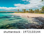Hawaii Beach Travel Landscape....