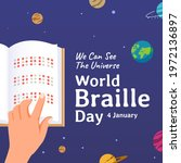 World Braille Day  January 4 ...