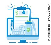 illustration of the rx...   Shutterstock .eps vector #1972233824