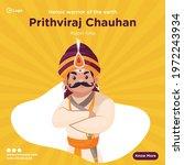 Banner Design Of Rajput King...