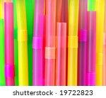 Drinking straws - stock photo