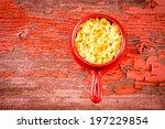 Kids Cheese Macaroni Served In...