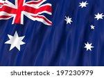 flag of australia.   Shutterstock . vector #197230979