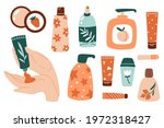 collection of different tubes... | Shutterstock .eps vector #1972318427