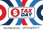 national tax day in the united... | Shutterstock .eps vector #1972369577