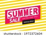 summer sale banner layout... | Shutterstock .eps vector #1972372604
