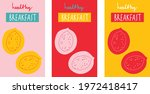 breakfast logo set for products ... | Shutterstock .eps vector #1972418417