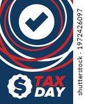 national tax day in the united... | Shutterstock .eps vector #1972426097