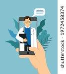 online medicine concept....   Shutterstock .eps vector #1972458374