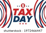 national tax day in the united... | Shutterstock .eps vector #1972466447