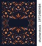modern vector art deco frame...   Shutterstock .eps vector #1972480484