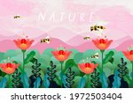 nature and landscape. vector... | Shutterstock .eps vector #1972503404