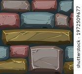 cobblestones seamless pattern ...